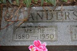 Mettie <I>Watt</I> Anderson