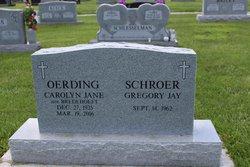 Carolyn Jane <I>Bredehoeft</I> Oerding