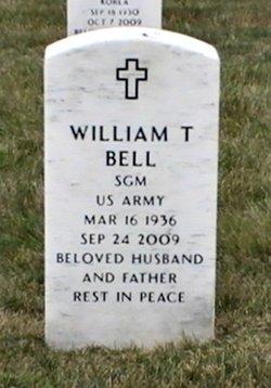 """Sgt Maj William T. """"Bill"""" Bell"""