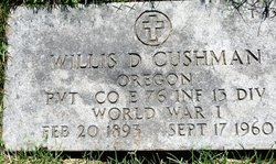 Willis D Cushman