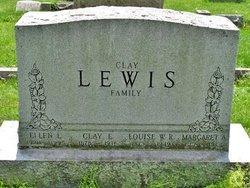 Louise Wilhelmina <I>Reinecke</I> Lewis