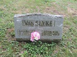 Pauline <I>Snyer</I> VanSlyke