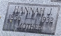 Hannah J. <I>Townsend</I> Rudd