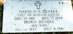 Harold R Deneke