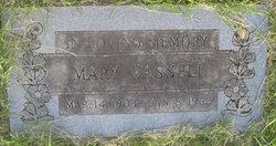 Mary <I>Cox</I> Cassell