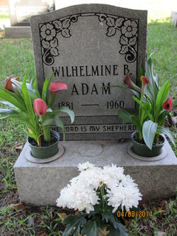 Wilhelmine Berta Adam