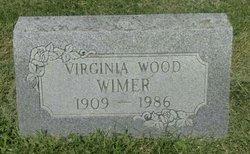 Virginia <I>Wood</I> Wimer