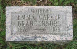 Emma <I>Carver</I> Brandenburg