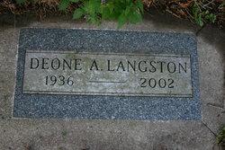 Deone Avon <I>Brubaker</I> Langston