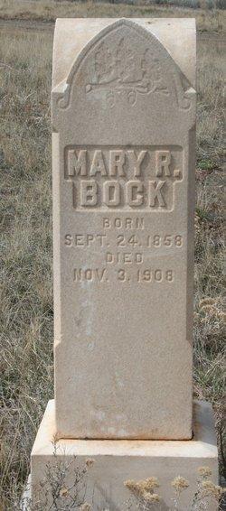 Mary R Bock