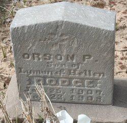 Orson P Dodge