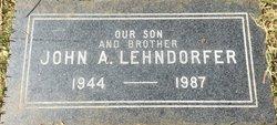 John A Lehndorfer