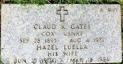 Claude K Gates