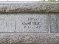 Bertha Krakoff Martin