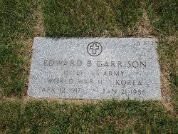 Edward B Garrison