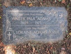 Walter Paul Adams