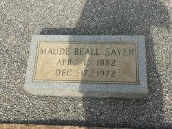 Maude Blanch <I>Beall</I> Sayer