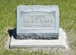 Alice Cordelia <I>Mulvain</I> Baker