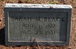 "Sarah M. ""Sally"" Black"