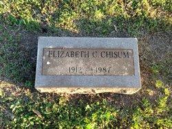 Elizabeth Louise <I>Carson</I> Chisum