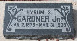 Hyrum S Gardner, Jr