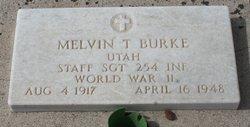 Melvin T Burke