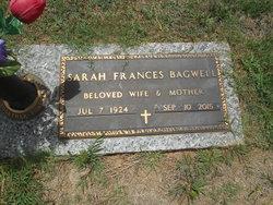 Sarah Frances <I>Wall</I> Bagwell