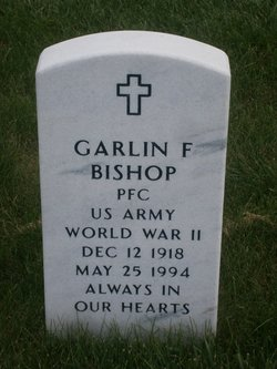 PFC Garlin F Bishop