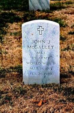 John J Mcgauley