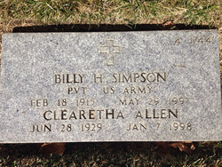 Billy Hugh Simpson