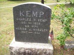 Marion J. <I>Wheeler</I> Kemp