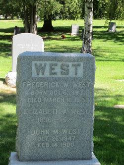 Elizabeth Ann <I>Seaward</I> West