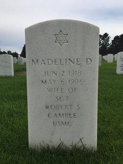 Madeline D Gamble