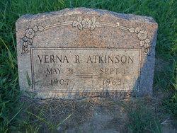 Verna R Atkinson