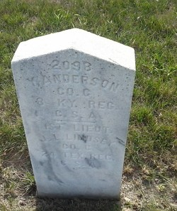 Pvt Yarber Anderson