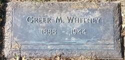 Greer M. Whitney