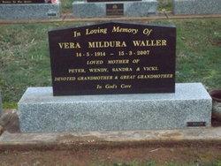 Vera Mildura <I>Schutt</I> Waller