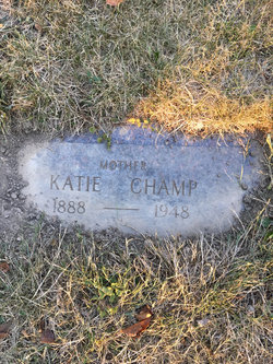 Mrs Katie <I>Holloway</I> Champ