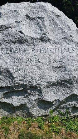 COL George Rodman Goethals