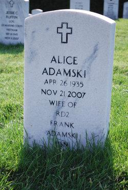 Alice C. <I>Watson</I> Adamski