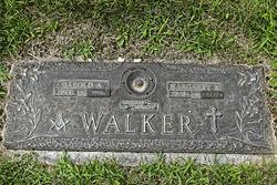 Harold A Walker