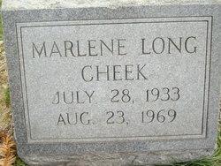 Marlene Jean <I>Long</I> Cheek
