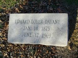 Edward Loyer Davant, Sr