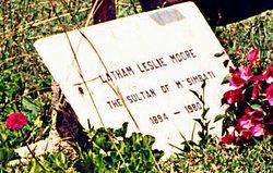 """Latham Leslie """"Sultan of M'Simbati"""" Moore"""