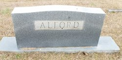 Elmer Olive <I>Berry</I> Alford