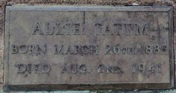 Allie <I>Law</I> Tatum