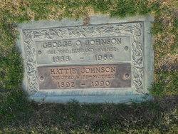 Hattie <I>Ohlin</I> Johnson