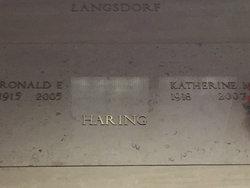 Katherine Margaret <I>Zupon</I> Haring