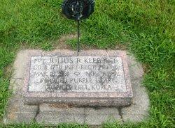 PVT Julius R. Klebbe, Jr