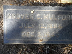 Grover Cleveland Mulford